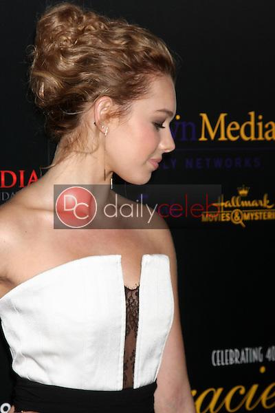 Sadie Calvano<br /> at the 40th Anniversary Gracies Awards, Beverly Hilton, Beverly Hills, CA 05-19-15<br /> David Edwards/DailyCeleb.com 818-249-4998
