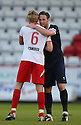 Mark Roberts, Kevin Nolan. Mitchell Cole Benefit Match - Lamex Stadium, Stevenage - 7th May, 2013. © Kevin Coleman 2013. ..