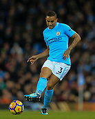 3rd December 2017, Etihad Stadium, Manchester, England; EPL Premier League football, Manchester City versus West Ham United; Danilo of Manchester City  passes the ball