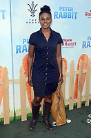 LOS ANGELES, CA - FEBRUARY 03: Adina Porter at the premiere of Columbia Pictures' 'Peter Rabbit' at The Grove on February 3, 2018 in Los Angeles, California. <br /> CAP/MPI/DE<br /> &copy;DE//MPI/Capital Pictures