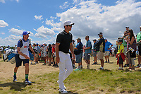Paul Casey (GBR) approaches the 7th tee during Sunday's round 4 of the 117th U.S. Open, at Erin Hills, Erin, Wisconsin. 6/18/2017.<br /> Picture: Golffile | Ken Murray<br /> <br /> <br /> All photo usage must carry mandatory copyright credit (&copy; Golffile | Ken Murray)