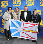 Guests attends the Broadway Opening Night performance for 'Come From Away' at the Gerald Schoenfeld Theatre on March 12, 2017 in New York City.