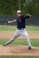 Robbie Aviles - Cleveland Indians 2016 spring training (Bill Mitchell)