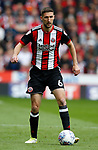 Chris Basham of Sheffield Utd during the Championship match at Bramall Lane Stadium, Sheffield. Picture date 16th September 2017. Picture credit should read: Simon Bellis/Sportimage
