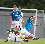 Jason Holt tackled by Andy Dowie
