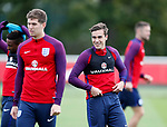 041017 England Training & Press Conference
