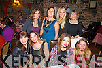 Celebrating Women's Christmas at Finnegan's restaurant, Tralee, on Monday evening were front l-r: Geraldine O'Mahony, Carmel Conway, Amy Conway and Karen O'Mahony. Back l-r: Catherine Dickens Mary Ellen Hurley, Kayleigh Beacham and Phil O'Mahony.