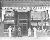 New York Bakery on Main Ave. in Durango.<br /> Durango, CO  ca 1910
