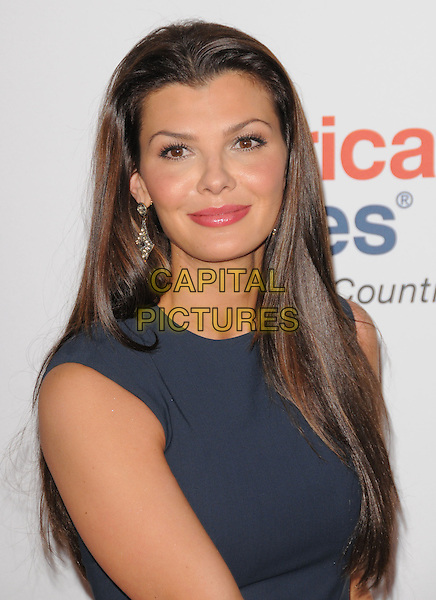 ALI LANDRY .at the 17th Annual Race to Erase MS held at The Hyatt Regency Century Plaza in Beverly Hills, California, USA, May 7th 2010..portrait headshot navy blue smiling dangly earrings                                                                     .CAP/RKE/DVS.©DVS/RockinExposures/Capital Pictures.
