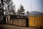 A mosque in Baramula, north Kashmir
