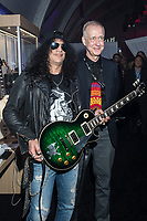 LAS VEGAS, NV - JANUARY 9: Slash and Gibson CEO Henry Juszkiewicz at the Gibson Tent at CES 2018 in Las Vegas, Nevada on January 9, 2018. <br /> CAP/MPI/DAM<br /> &copy;DAM/MPI/Capital Pictures