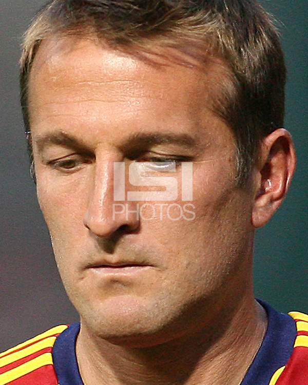 Jason Kreis, coach of Real Salt Lake during an Open Cup match against D.C. United at RFK Stadium, on June 2 2010 in Washington DC. DC United won 2-1.