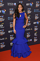 Alex Scott arriving for the BT Sport Industry Awards 2018 at the Battersea Evolution, London, UK. <br /> 26 April  2018<br /> Picture: Steve Vas/Featureflash/SilverHub 0208 004 5359 sales@silverhubmedia.com