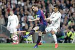 Real Madrid CF's Carlos Henrique Casemiro and FC Barcelona's Ivan Rakitic during La Liga match. March 02,2019. (ALTERPHOTOS/Alconada)