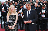 JULIA ROY AND BENOIT JACQUOT - RED CARPET OF THE 70TH ANNIVERSARY CEREMONY AT THE 70TH FESTIVAL OF CANNES 2017