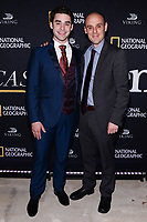 NEW YORK CITY - APRIL 20: Alex Rich and Alvaro Ramos attend the National Geographic GENIUS: PICASSO Tribeca Film Festival after party at The Genius Studio, 100 Avenue of the Americas, in New York City on April 20, 2018 in New York City.  The Genius: Studio is an interactive installation designed to inspire people to create their own masterpieces. (Photo by Anthony Behar/National Geographic/PictureGroup)