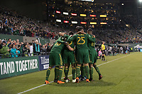 Portland, Oregon - Saturday, April 14, 2018.  Portland Timbers vs. Minnesota United FC in a match at Providence Park.