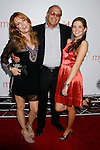"""HOLLYWOOD, CA. - September 15: Actress Lea Thompson (L), Director Howard Deutch and daughter Zoe Deutch arrive at the world premiere of """"My Best Friend's Girl"""" at The Arclight Hollywood on September 15, 2008 in Hollywood, California."""