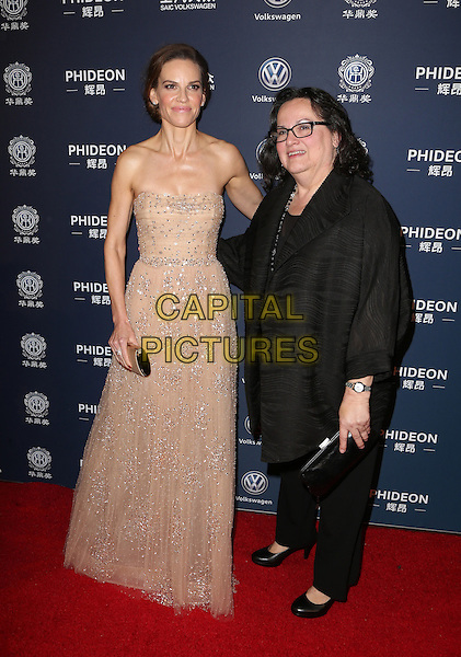 Los Angeles, CA - DECEMBER 15: Hilary Swank, Judy Kay, At 21st Annual Huading Global Film Awards, At The Theatre at Ace Hotel In California on December 15, 2016. <br /> CAP/MPI/FS<br /> &copy;FS/MPI/Capital Pictures