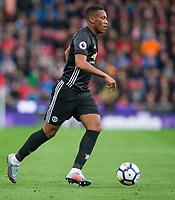 Anthony Martial of Man Utd during the Premier League match between Stoke City and Manchester United at the Britannia Stadium, Stoke-on-Trent, England on 9 September 2017. Photo by Andy Rowland.