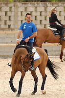 VALENCIA, ESPANHA, 05 DE MAIO 2012 - GP GLOBAL CHAMPIONS HORSE TOUR -  Alvaro Afonso de Miranda durante o GP Global Champions Hourse Tour em Valencia na Espanha, ontem sexta-feira, dia 4. (FOTO: RGPNT / ALFAQUI / BRAZIL PHOTO PRESS).