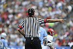 30 MAY 2016: Game referee is seen during the Division 1 Men's Lacrosse Championship between the University of Maryland and the University of North Carolina at Lincoln Financial Field in Philadelphia, PA. Larry French/NCAA Photos