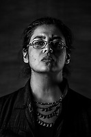 Mariana Selvas G&oacute;mez, 32, of the Mujeres de Atenco stands for a portrait on July 27, 2016 in Mexico City, Mexico. <br /> She was a student of Etnology and Anthropology in 2006. <br /> Everything changes, you see the world in a different way, it is like someone takes down a blindfold from your eyes and you see something horrific, something you knew was there, you were aware of its existence, you weren&acute;t indifferent,, but the moment you experienced it firsthand, you tell yourself &lsquo;wow&rsquo; this is so much worse and horrible than I ever could have imagined.<br /> Te cambia todo, ves el mudno de un modo muy crudo, es como si de repente te quitaran una venda de los ojos y vieras algo horrible que sab&iacute;as que exist&iacute;a, no eras ni indiferente, sabes que ah&iacute; esta pero en el momento en que lo vives, dices wow, es m&aacute;s feo  y m&aacute;s horrible de lo que me imaginaba.<br /> <br /> <br /> -Atenco was a turning point of my life. It was as if my innocence was stripped down from me in one night. <br /> <br /> &ldquo;This process of 10 years, has been very hard, very difficult and at the same time very beautiful. Regardless of the fact we started it so hurt, so broken, physically and emotionally we had and held each other.&rdquo;<br /> <br /> As a student the focus of her research 3 was on political torture and repression. <br /> <br /> &ldquo;Estamos viviendo una Guerra de alta intensidad, una Guerra declarada en contra del pueblo , el estado, gobienro nos ha declarado la Guerra, y nosotros solo estamos muriendo. Si estoy en una etapa, donde a 10 a&ntilde;os del 2006 las cosas van peor.&rdquo;<br /> <br /> &ldquo;We are going through a high intensity war, a war that has been declared against the people of Mexico, the state, the government has declared this war and we are not acting as If it was happening, we are just dying. <br /> Ten years after Atenco happened, I see things are much worse and they will get even worse if we don&rsqu
