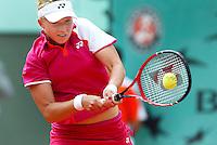 29-5-06,France, Paris, Tennis , Roland Garros, Michaella Krajicek in her first round match