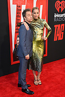 Sam Rockwell &amp; Leslie Bibb at the world premiere for &quot;TAG&quot; at the Regency Village Theatre, Los Angeles, USA 07 June  2018<br /> Picture: Paul Smith/Featureflash/SilverHub 0208 004 5359 sales@silverhubmedia.com