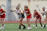 San Diego, CA 05/21/11 - Rachel Brennan (Coronado #22) and Carissa Fisher (Cathedral Catholic #1) in action during the 2011 CIF San Diego Division 2 Girls lacrosse finals between Cathedral Catholic and Coronado.
