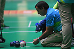 General view, <br /> SEPTEMBER 15, 2016 - Boccia : <br /> Individual BC2 Quarter final match between Jeong So Yeong - Hidetaka Sugimura <br /> at Carioca Arena 2<br /> during the Rio 2016 Paralympic Games in Rio de Janeiro, Brazil.<br /> (Photo by AFLO SPORT)