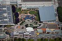 aerial photograph Zeum Moscone Center SOMA San Francisco, California