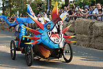 Team 黑白郎君之馴龍高手  in action during the Red Bull Soapbox Race 2017 Taipei at Multipurpose Gymnasium National Taiwan Sport University on 01 October 2017, in Taipei, Taiwan. Photo by Victor Fraile / Power Sport Images