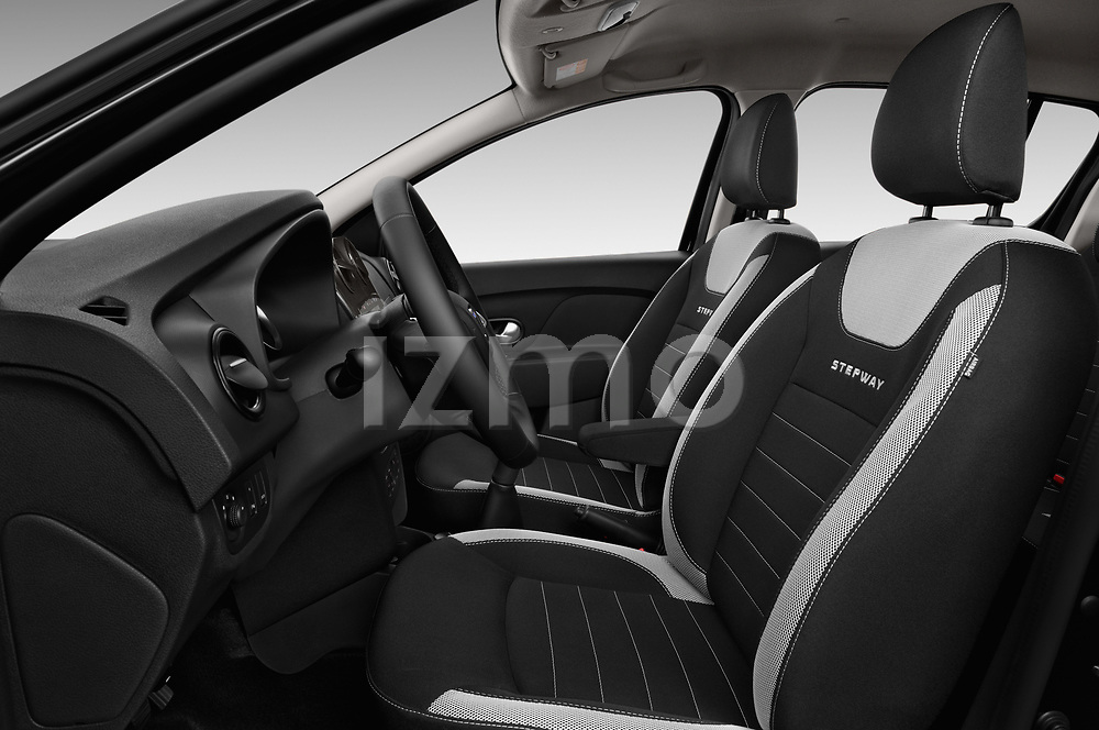 Front seat view of 2017 Dacia Sandero Stepway 5 Door Hatchback Front Seat  car photos