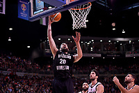 New Zealand Tall Blacks' Jordan Ngatai in action during the the FIBA World Cup Basketball Qualifier - NZ Tall Blacks v Jordan at Horncastle Arena, Christchurch, New Zealand on Thursday 29 November  2018. <br /> Photo by Masanori Udagawa. <br /> www.photowellington.photoshelter.com