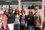 6 most filmed GL fans - Amanda, Christine, Brie, Kim, Wendy, Sundi - Day 2 - August 1, 2010 - So Long Springfield at Sea - A day in port in Saint John, New Brunswick, Canada from the Carnival's Glory (Photos by Sue Coflin/Max Photos)