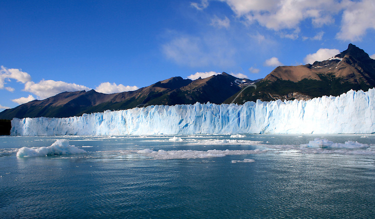 View from the boat, Perito Moreno Glacier, Patagonia, Argentina   Feb 08