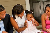 Lifestyle photographs of the Joyner family at their home in Atlanta, GA