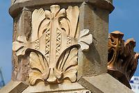 Spanien, Barcelona, Hospital de Sant Pau, Carrer Sant Maria Claret 167-171, erbaut 1902 von Domenech i Montaner, Unesco-Weltkulturerbe