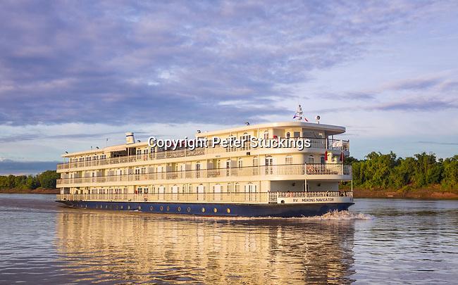 Exterior of Mekong Navigator cruise ship, for Haimark