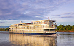 Exterior of Mekong Navigator cruise ship, for Haimark