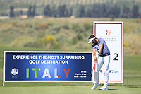 Mike Lorenzo Vera (FRA) during the third round of the Rocco Forte Sicilian Open played at Verdura Resort, Agrigento, Sicily, Italy 12/05/2018.<br /> Picture: Golffile   Phil Inglis<br /> <br /> <br /> All photo usage must carry mandatory copyright credit (&copy; Golffile   Phil Inglis)
