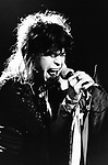 Aerosmith 1984 Steven Tyler.© Chris Walter.