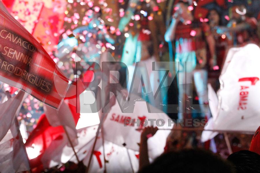 """SÃO PAULO, SP – 26.08.2017 - CARNAVAL-SP - Com o enredo """"Minha Música, Minha Raiz. Abram a Porteira Para Essa Gente Caipira e Feliz"""". A Escola de Samba Dragões da Real, é grupo especial do Carnaval de São Paulo, definiu seu samba para o carnaval 2018, na noite deste sábado, 26. (Foto:Nelson Gariba/Brazil Photo Press)"""