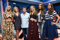 Spanish actress Ana Simon, Patricia Montero, Pablo Motos, Marta Hazas, Pilar Rubio and Ana Morgade during the presentation of the new season of the tv show · El Hormiguero · of Antena 3 channel. September 01, 2016. (ALTERPHOTOS/Rodrigo Jimenez) NORTEPHOTO