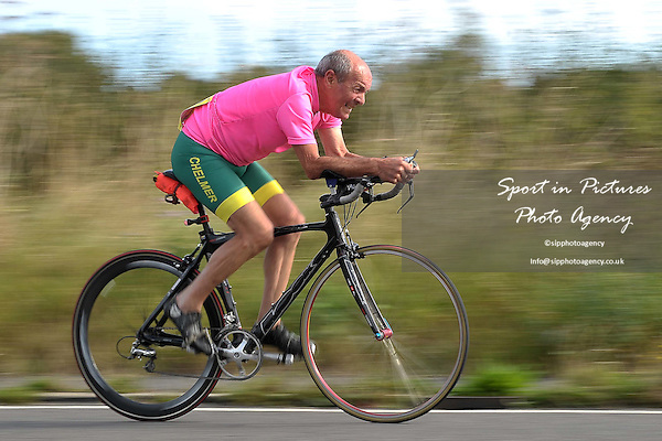 Victoria Cycling Club (VCC) 10.2 mile time trial. Race 4. Ugely. Essex. 27/08/2016. MANDATORY Credit Garry Bowden/Sportinpictures - NO UNAUTHORISED USE - 07837 394578