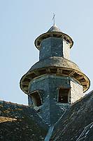 Clocheton de l'eglise de Turenne, XVIIe siecle