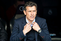 Celta de Vigo coach Juan Carlos Unzue during La Liga match between Real Madrid and Celta de Vigo at Santiago Bernabeu Stadium in Madrid, Spain. May 12, 2018. (ALTERPHOTOS/Borja B.Hojas) /NORTEPHOTOMEXICO
