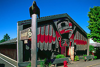 The Eagle Aerie Gallery (Artist Roy Henry Vickers) in Tofino, on Vancouver Island, British Columbia, Canada (No Property Release)