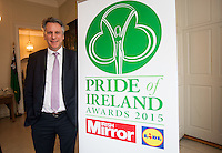 02/04/2015<br /> Peter Willis Daily Mirror Editor (weekdays)<br />  during the Pride of Ireland judging day in the Mansion House, Dublin.<br /> Photo:  Gareth Chaney Collins